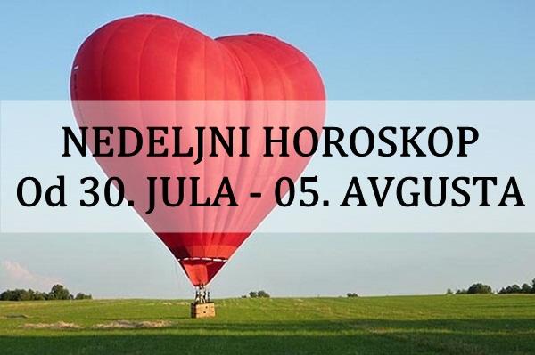 NEDELJNI HOROSKOP | Od 30. JULA – 05. AVGUSTA 2018. godine