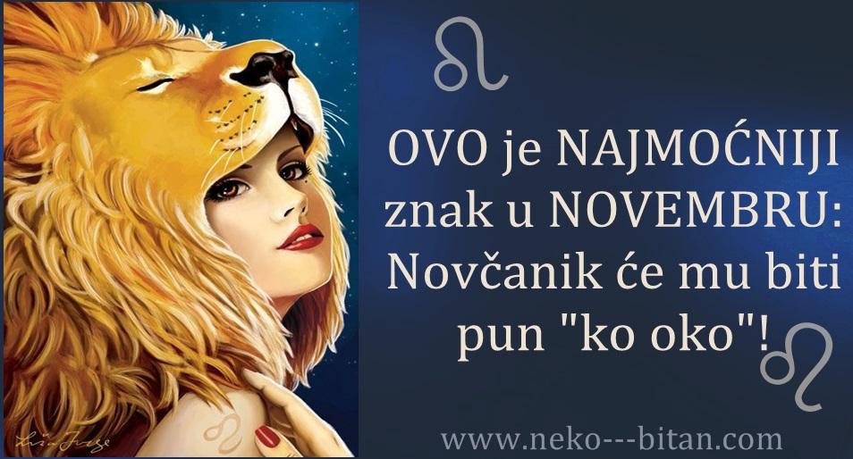 """OVO je NAJMOĆNIJI znak u NOVEMBRU: Novčanik će mu biti pun """"ko oko""""!"""