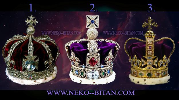 KRUNA je simbol vlasti, časti i uspeha. IZABERITE jednu krunu i saznajte  da li vas očekuje sreća i uspeh!