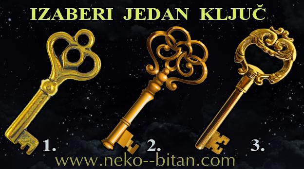 KLJUČ je MOĆAN SIMBOL: Izaberite jedan ključ i otkrijte SVOJU BUDUĆNOST.