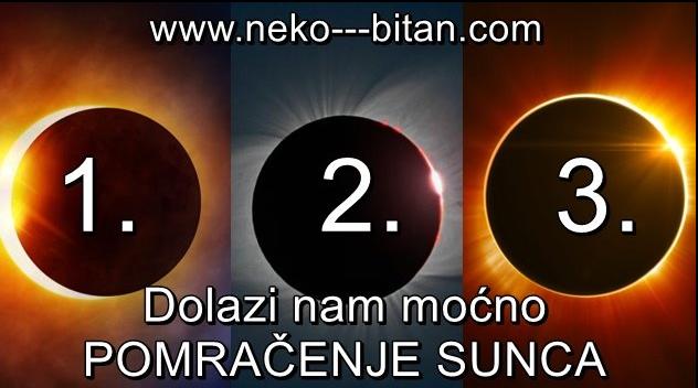 Sutra će se dogoditi MOĆNO POMRAČENJE SUNCA: Izaberite jedno Sunce i saznajte kakva ISKUŠENJA i PROMENE donosi u vaš život!