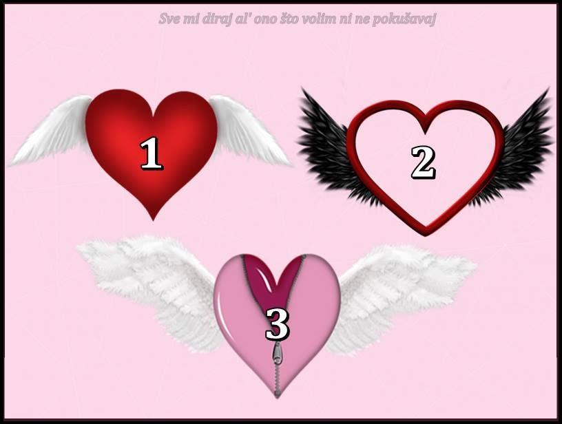 """SRCE LJUBAVI! Izaberi jedno i saznaj da li ce ljubav """"DOLETETI"""" u tvoj zivot ili ces moci samo da je SANJAS!"""