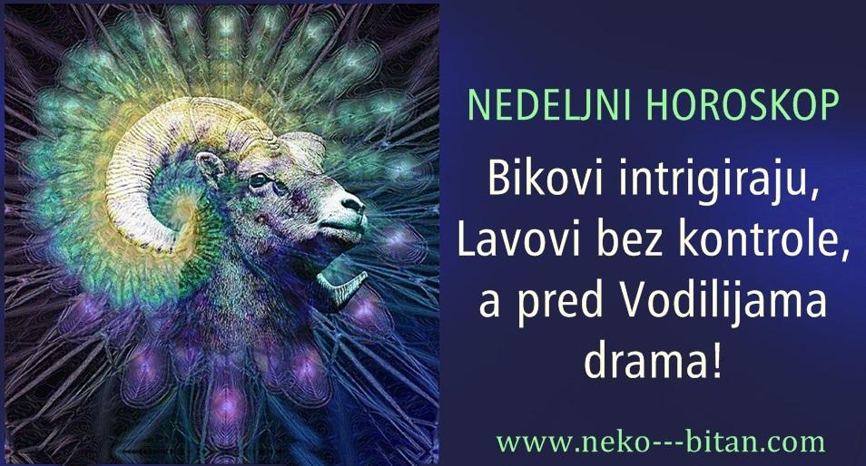 NEDELJNI HOROSKOP od 5-11. NOVEMBRA: Bikovi intrigiraju, Lavovi bez kontrole, a pred Vodilijama drama!