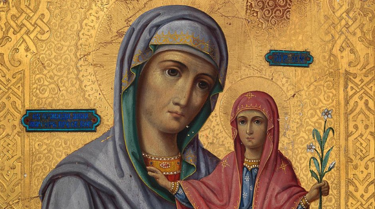 DANAS JE USPENJE SVETE ANE majke PRESVETE BOGORODICE:  ovo je molitva majci Bogorodice koju svaka udata žena treba da izgovori  za srećan brak