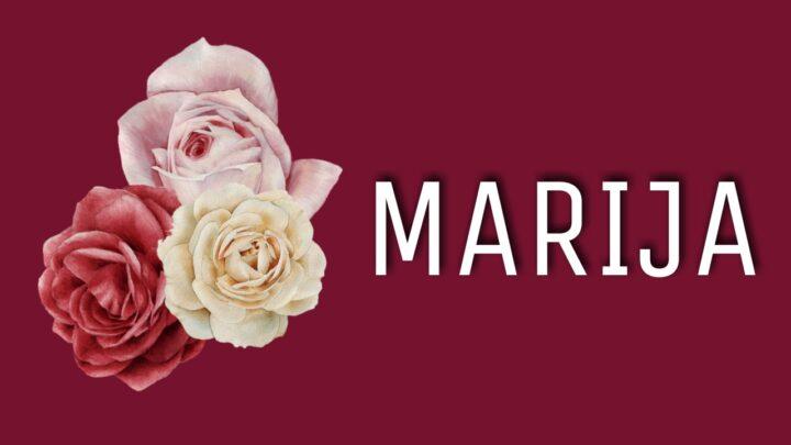 MARIJE su NAJLEPŠE! Ovo ime nose VREDNE, ODANE i NEŽNE žene i treba da ga nose SA PONOSOM!