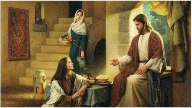 Danas slavimo SVETE MIRONOSICE MARTU I MARIJU:Je li Marta pogrešila kada se naljutila na Mariju?