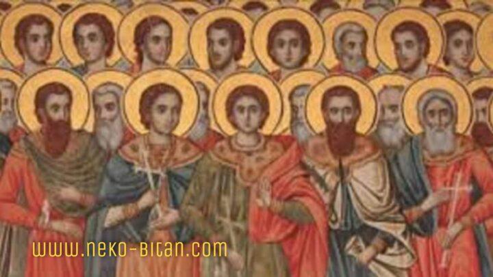 Danas se obeležava SVETIH 45 MUČENIKA iz Nikopolja: Stradali su strašnom smrću zbog VERE U HRISTA!